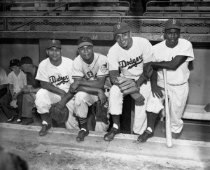 Portrait of First African Americans in All-Star Game