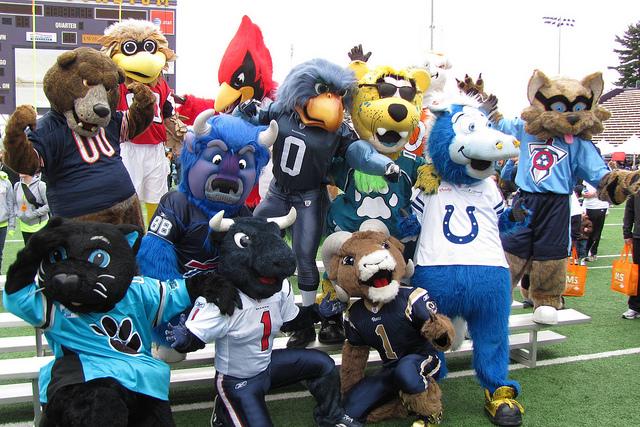 Giants Football Mascot