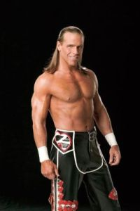 Shawn Michaels, Book Cover Trax, Stamford, CT April 17, 2005 photo: Rich Freeda