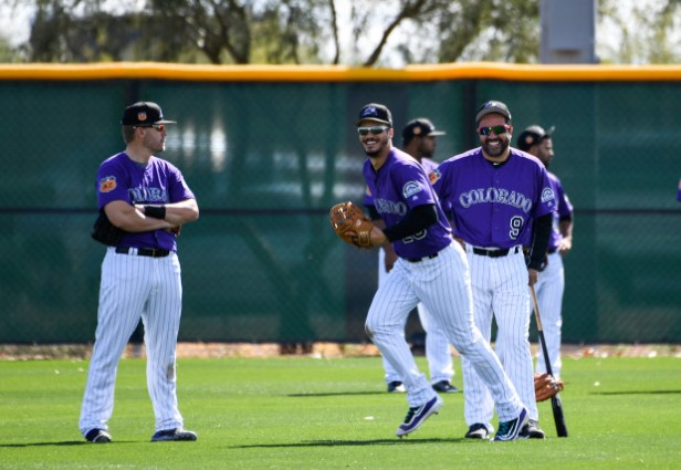 Colorado Rockies Spring Training in Scottsdale