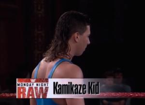 kamikaze-kid-raw-debut