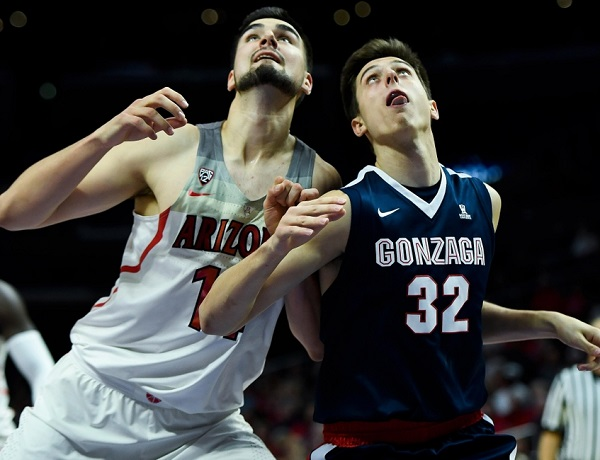 NCAA Basketball: Gonzaga vs Arizona