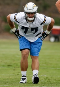 Chargers Rookie Camp Football