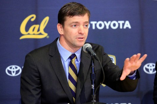 Introduction of new Cal football coach Justin Wilcox